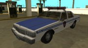 Chevrolet Caprice 1987 NYPD Transit Police for GTA San Andreas miniature 1