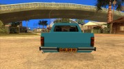 Volkswagen Сaddy 1980 for GTA San Andreas miniature 7