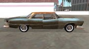Dodge Polara 1961 Rust my version for GTA San Andreas miniature 6