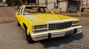 Ford LTD Crown Victoria 1987 L.C.C. Taxi for GTA 4 miniature 1