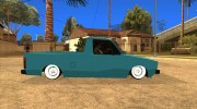 Volkswagen Сaddy 1980 for GTA San Andreas miniature 4