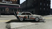 Audi Quattro Group B для GTA 4 миниатюра 5