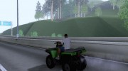 ATV Polaris for GTA San Andreas miniature 2
