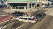 "Cadillac Miller-Meteor 1959 ""Ghostbusters ECTO-1"" for GTA 5 miniature 4"
