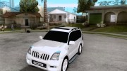 2009 toyota land cruiser prado for GTA San Andreas miniature 1