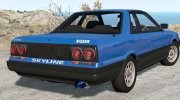 Nissan Skyline GTS-R (KHR31) 1987 for BeamNG.Drive miniature 2