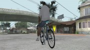 Leader Kagero Fixed Gear Bike для GTA San Andreas миниатюра 2