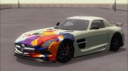Mercedes-Benz SLS AMG Black Series 2013 для GTA San Andreas миниатюра 32