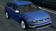Volkswagen MK7 Golf Alltrack for Street Legal Racing Redline miniature 1