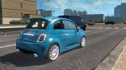 Fiat 500 Abarth for Euro Truck Simulator 2 miniature 3