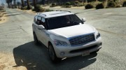 Infiniti QX56 for GTA 5 miniature 1