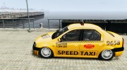 Dacia Logan Prestige Taxi for GTA 4 miniature 2