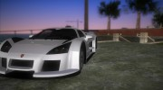 Gumpert Apollo Sport for GTA Vice City miniature 4