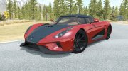 Koenigsegg Regera 2017 for BeamNG.Drive miniature 1