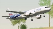 Airbus A320-200 LAN Airlines - 80 Years Anniversary (CC-CQN) for GTA San Andreas miniature 22