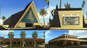 Las Vegas Guardian Angel Cathedral Catholic Church And Train Stations Textures for GTA San Andreas miniature 1