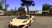 McLaren MP4-12C Speedhunters Edition for GTA San Andreas miniature 1