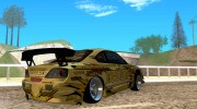 Nissan Silvia S15 Top Secret for GTA San Andreas miniature 4