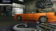 Nissan 240SX Tunable for GTA 5 miniature 26