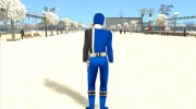 Power Ranger RPM Blue for GTA San Andreas miniature 5