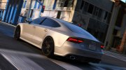 Audi RS7 Sportback for GTA 5 miniature 2