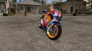 2006 Honda RC211V Repsol Nicky Hayden for GTA San Andreas miniature 1