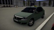 Renault Logan Taxi for GTA San Andreas miniature 1