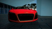 2014 Audi R8 V10 Spyder for GTA Vice City miniature 3
