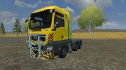 MAN TGS with Strobe Light v 2.5 для Farming Simulator 2013 миниатюра 1