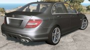 Mercedes-Benz C 63 AMG (W204) 2011 for BeamNG.Drive miniature 3