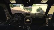2013 Mercedes-Benz G65 AMG v1.2 for GTA 5 miniature 3