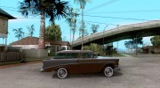 Chevrolet Bel Air Nomad 1956 for GTA San Andreas miniature 5