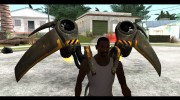 Jetpack from Batman Arkham Origins для GTA San Andreas миниатюра 1