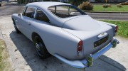 1964 Aston Martin DB5 Vantage for GTA 5 miniature 8