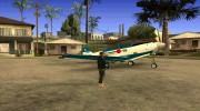 P-39N Airacobra JASDF Blue Impulse for GTA San Andreas miniature 12