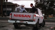 Nissan Ddsen Double Cab for GTA 5 miniature 5