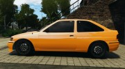 Ford Escort L 1994 Custom для GTA 4 миниатюра 2