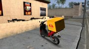 GTA IV Pegassi Faggio Delivery for GTA San Andreas miniature 2
