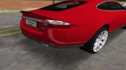 Jaguar XKR S для GTA Vice City миниатюра 4