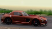 Mercedes-Benz SLS AMG Black Series 2013 для GTA San Andreas миниатюра 17