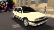 Volkswagen Golf 3 ABT VR6 Turbo Syncro for GTA 3 miniature 2