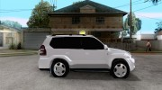 2009 toyota land cruiser prado for GTA San Andreas miniature 5