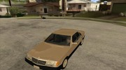Mercedes Benz 500 SE W140 for GTA San Andreas miniature 1