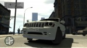 Jeep Grand Cherokee SRT8 для GTA 4 миниатюра 11