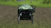 УАЗ 3909 военный для Farming Simulator 2013 миниатюра 9
