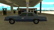 Ford LTD Crown Victoria 1987 Kentucky State Police for GTA San Andreas miniature 5