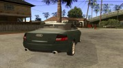 Audi A4 Cabrio for GTA San Andreas miniature 4