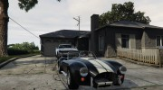 Shelby Cobra for GTA 5 miniature 1