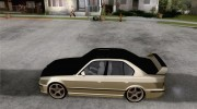 BMW M5 E34 for GTA San Andreas miniature 2