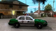 Ford Crown Victoria 2003 Police Interceptor VCPD для GTA San Andreas миниатюра 5